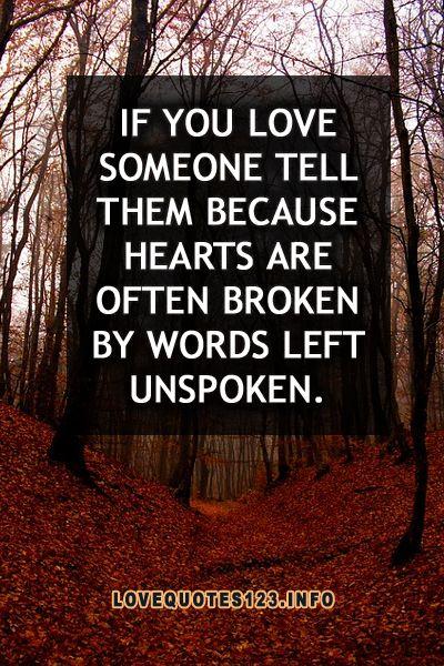 unspoken love quotes quotesgram