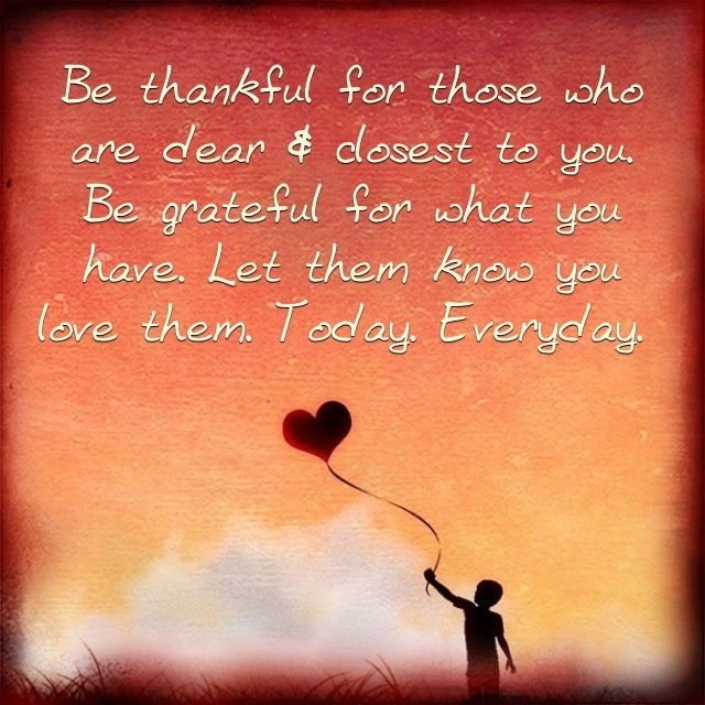 New Relationship Love Quotes: Be Thankful For Today Quotes. QuotesGram