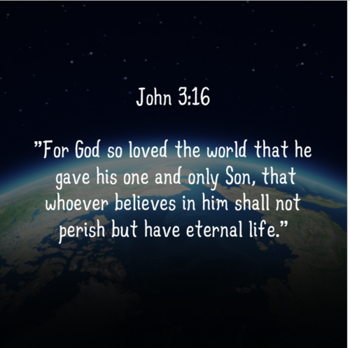 Bible Quotes John 3 16 Quotesgram