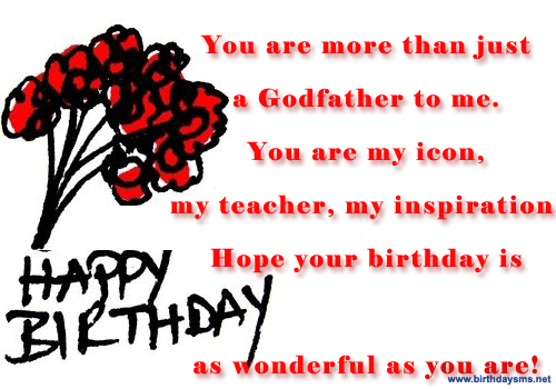 Birthday Wishes For Godmother Nicewishes Com: Happy Birthday Godfather Quotes. QuotesGram