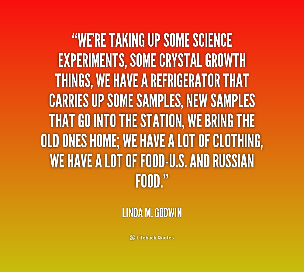 Quotes About Love: Quotes Science Experiments. QuotesGram