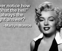 Marilyn monroe quotes about curves