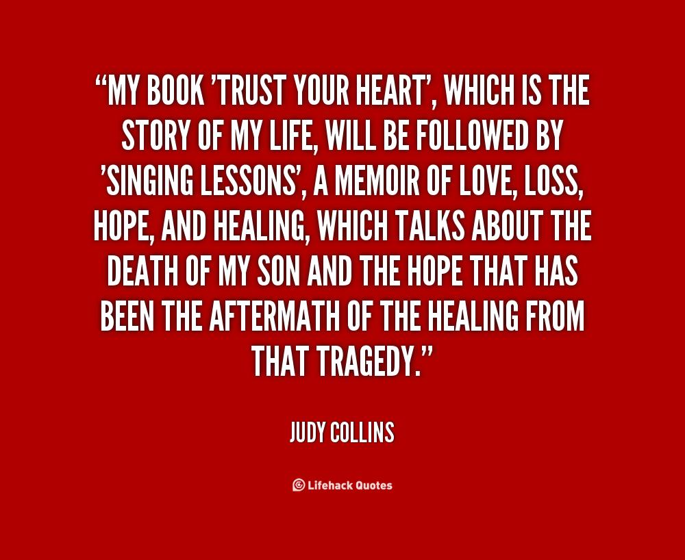 Trust Your Heart Quotes. QuotesGram