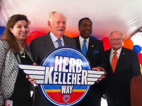 "herb kelleher at southwest airlines It is this reputation that herb kelleher went up against when he founded southwest airlines in 1971 ""herb's vision was that we were southwest allows."