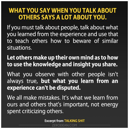 Talking Bad About Someone Quotes: People Talking Shit Quotes. QuotesGram