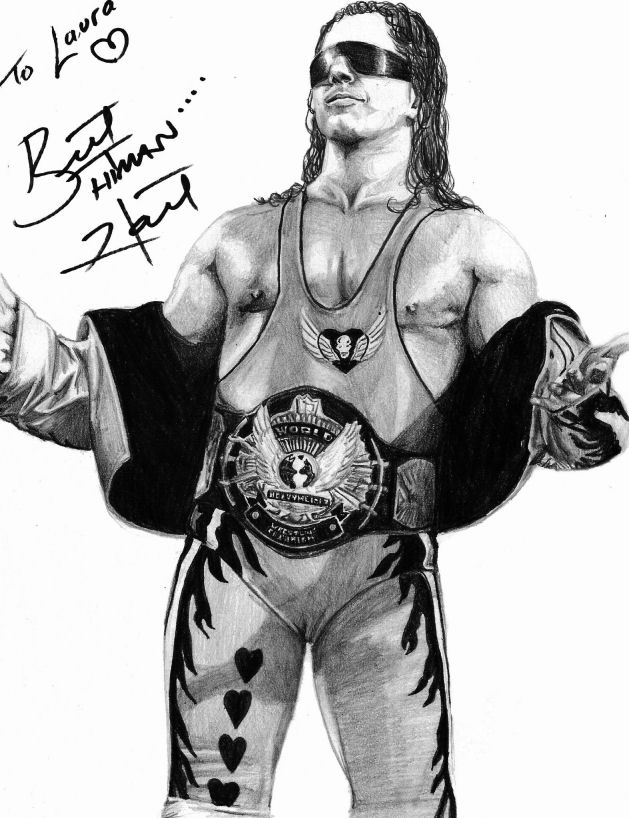 bret hart coloring pages - photo#33