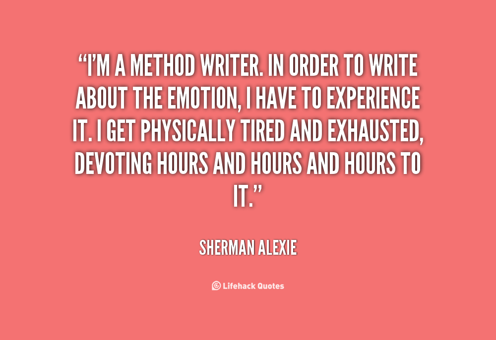 the life and work of the sherman alexie a native american writer and poet Sherman alexie is an award-winning author, poet, and filmmaker his work primarily focuses on contemporary native american identity alexie was born on october 7, 1966 on the spokane indian reservation in washington, to sherman joseph alexie and lillian agnes cox he is of coeur d'alene, colville.