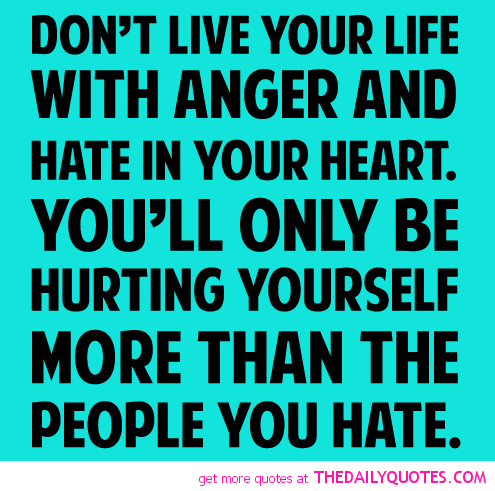 how to move on from hurt and anger