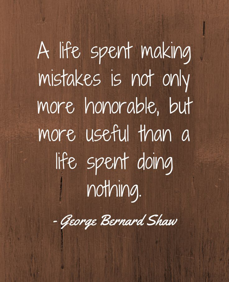 Mistake Quotes By Famous People Quotesgram