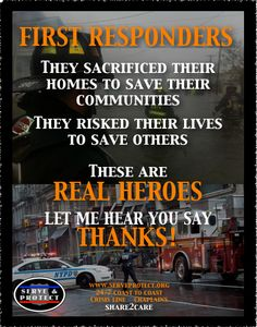 Thank You Quotes For First Responders Police Quotesgram
