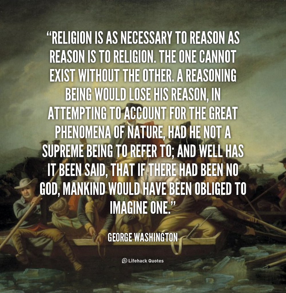 Inspirational Quotes About Positive: George Washington Quotes Religion. QuotesGram