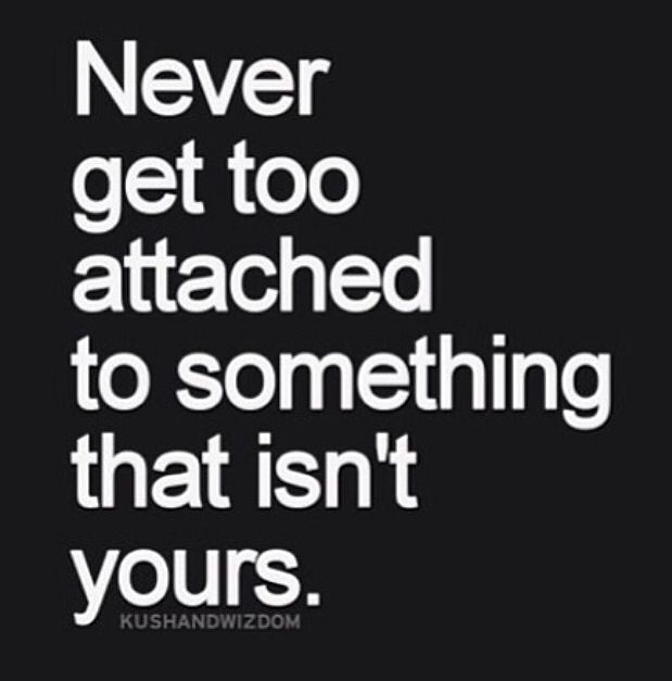 Quotes About Not Getting Attached. QuotesGram