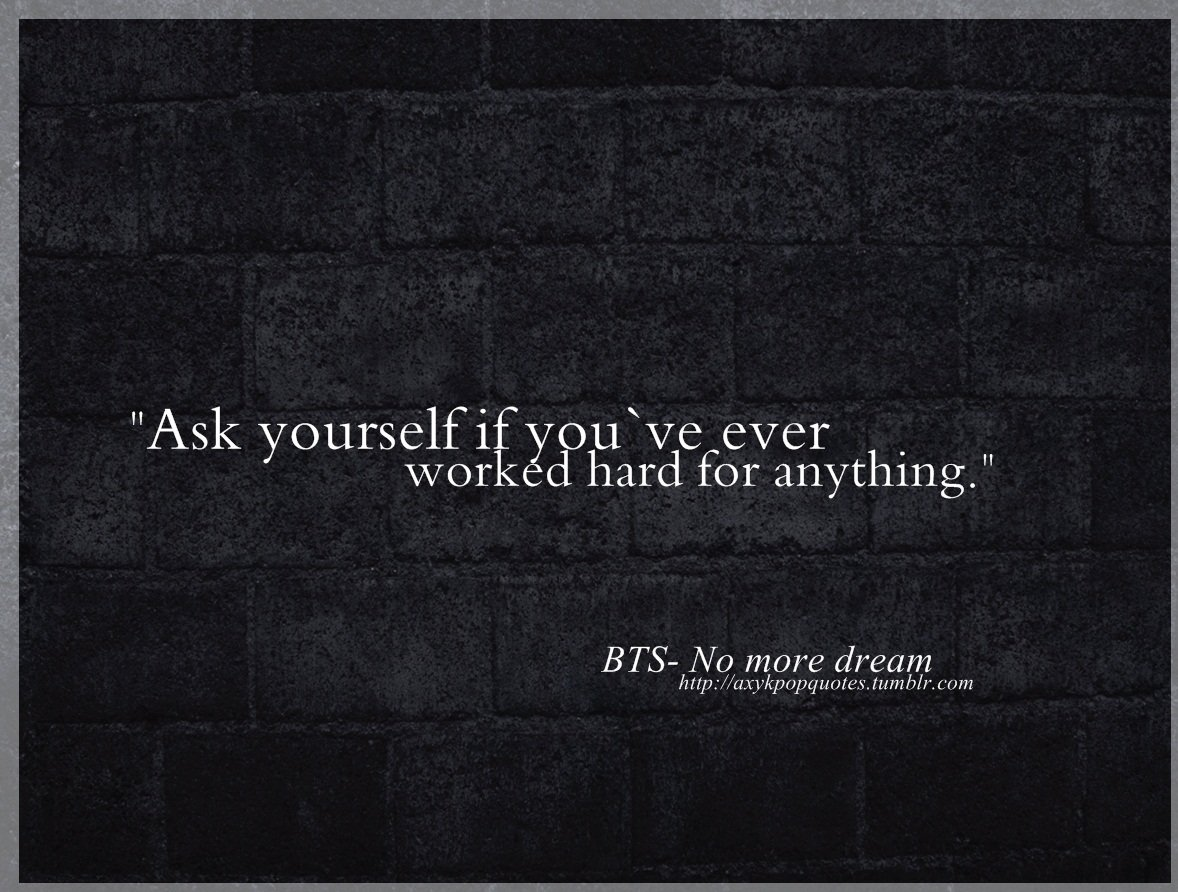 Bts Kpop Quotes
