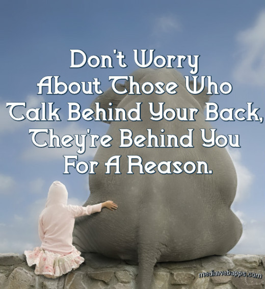Quotes About Talking To People: Friends Talking Behind Your Back Quotes. QuotesGram