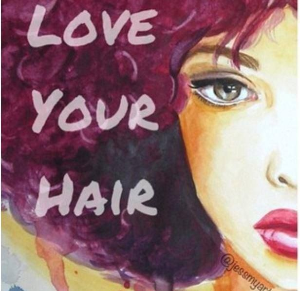 Cute Curly Natural Hair Quotes Quotesgram