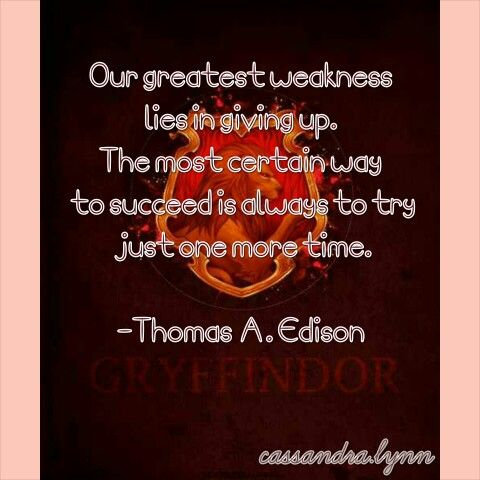 Gryffindor House Quotes Quotesgram