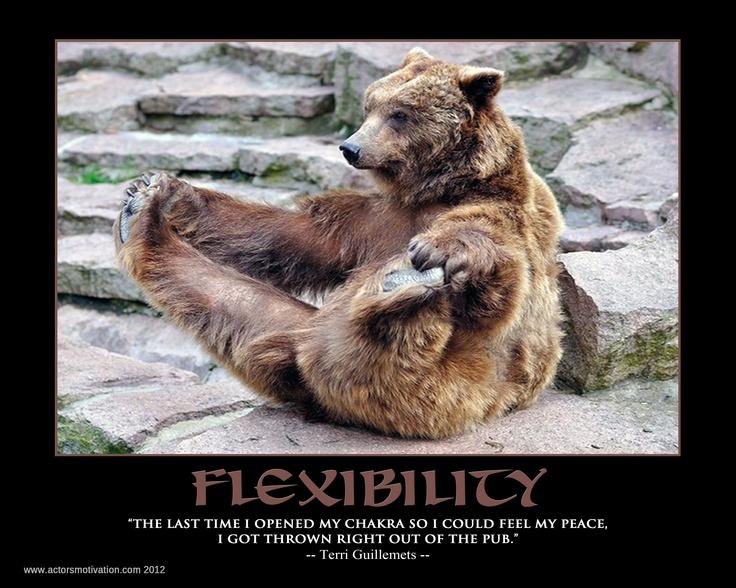 Funny Flexibility Quotes. QuotesGram