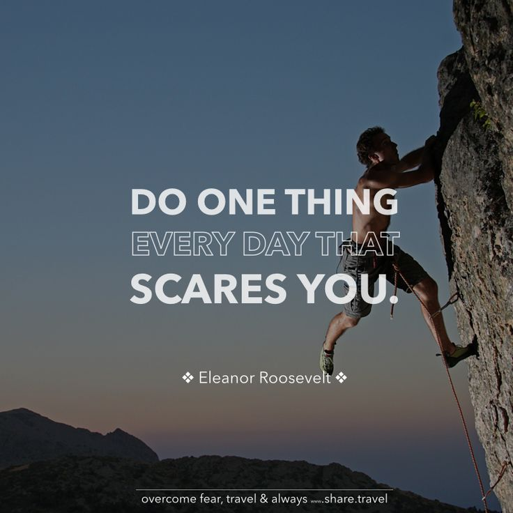 Inspirational Quotes About Failure: Overcoming Fear Quotes And Inspirational. QuotesGram
