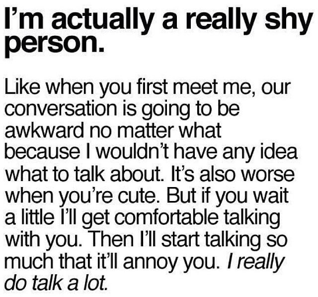 Qoutes About Being Shy: Im Shy Quotes. QuotesGram