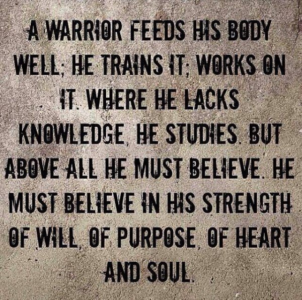 Famous Quotes About Warriors. QuotesGram