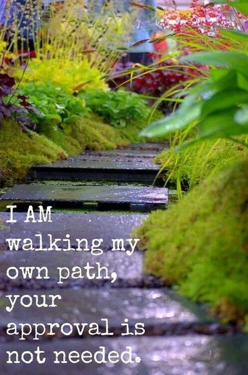 walking the path And make straight paths for your feet, so that the limb which is lame may not be put out of joint, but rather be healed.