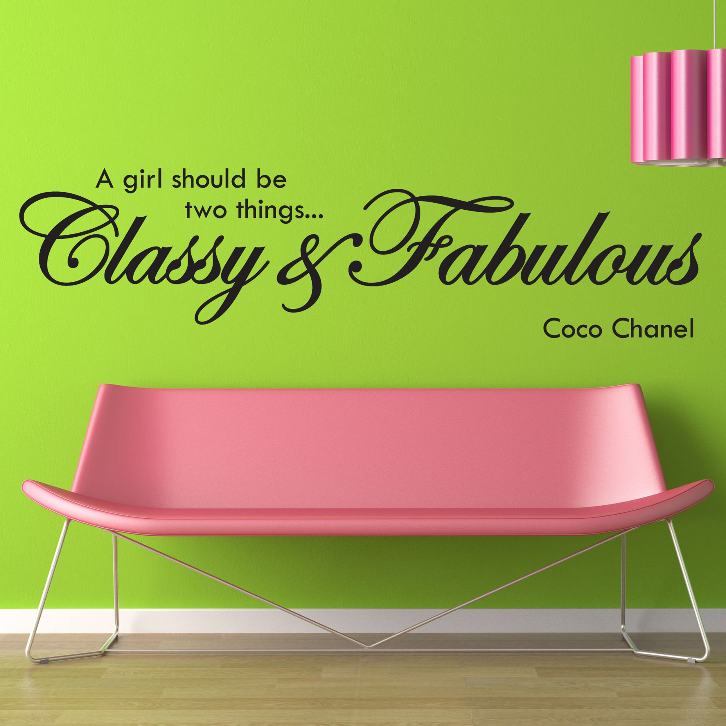 Coco Chanel Quotes Wall Decals. QuotesGram