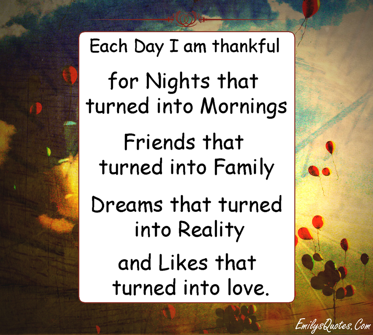 Friendship Quotes About Dreams : Grateful inspirational quotes quotesgram