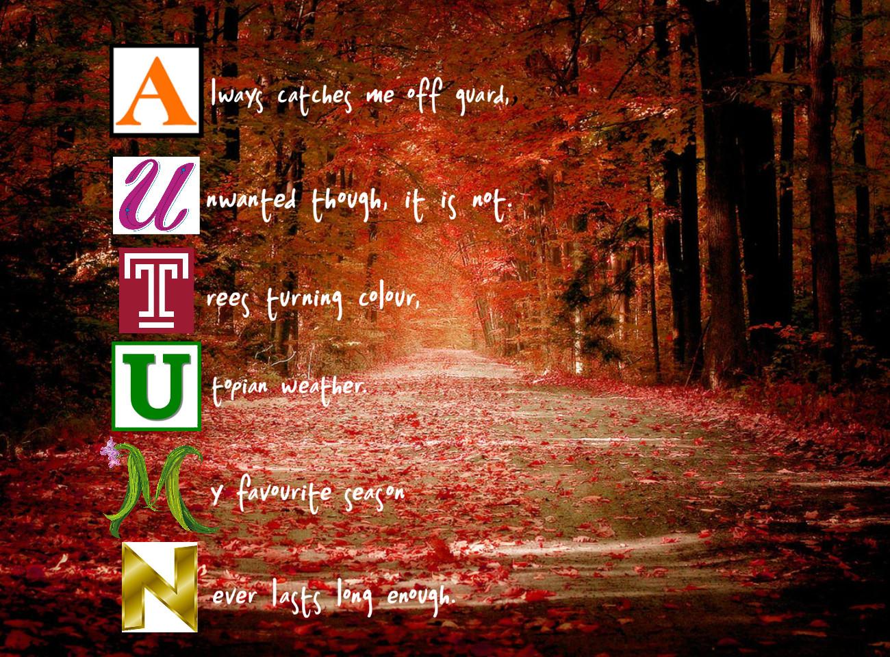 Autumn Poems And Quotes. QuotesGram