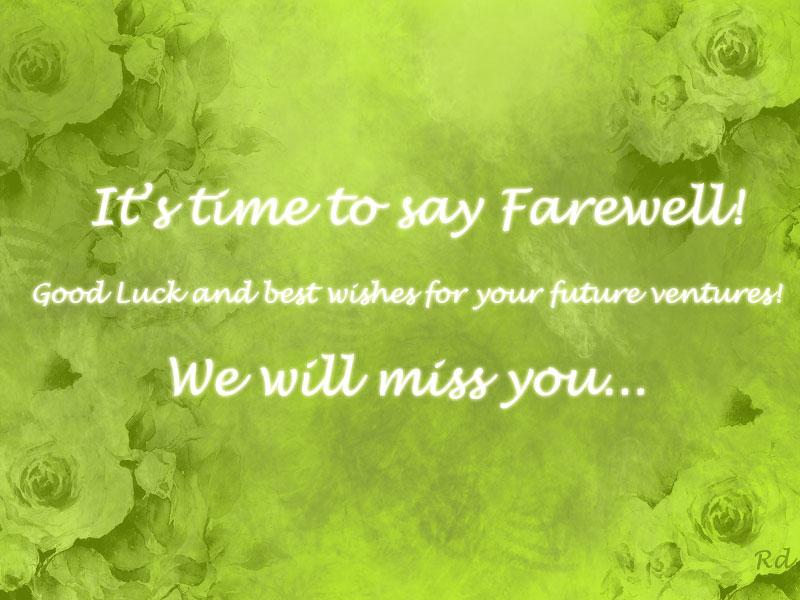 Happy Farewell Quotes. QuotesGram