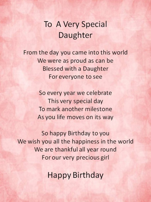inspirational quotes for daughters birthday quotesgram