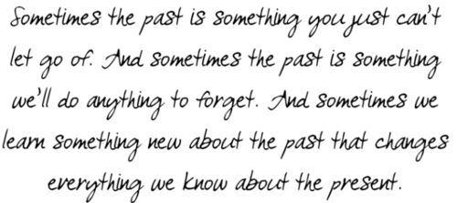 how to let go of the past quotes