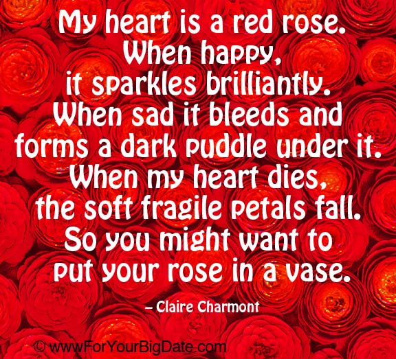 Inspirational Quote Red On Pinterest: Red Rose Quotes Inspirational. QuotesGram