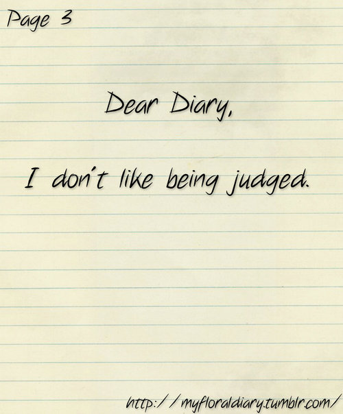 Dear Diary Quotes. QuotesGram
