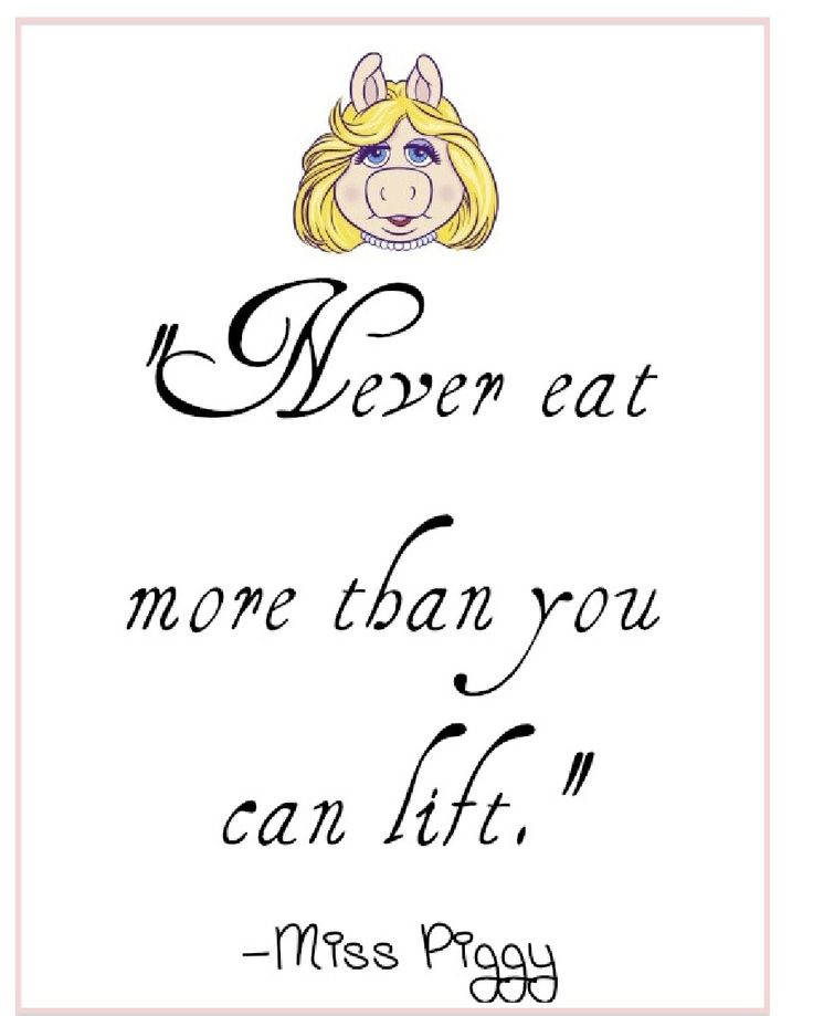 Miss Piggy Quotes About Food Quotes Miss Piggy Styl...