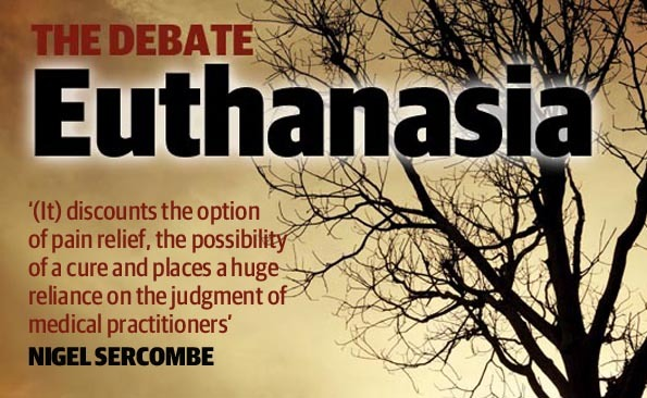 euthanasia a relief from pain and suffering