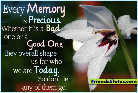 Inspirational Quotes Friendship Memories. QuotesGram