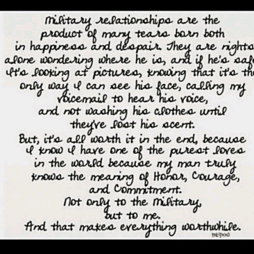 Military Love Quotes For Him: Military Love Quotes For Couples. QuotesGram