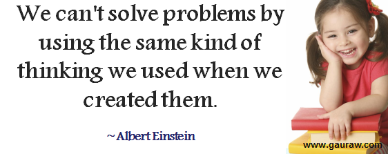 How have you used critical thinking to solve problems in our daily life