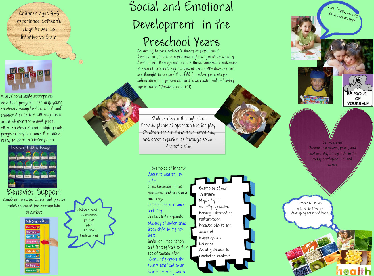 mental and emotional development Early childhood social and emotional development and mental health refers to the development of social, emotional, and behavioral skills in children birth through early school these skills.