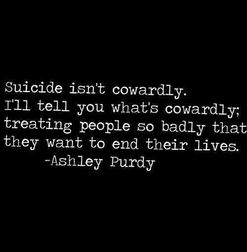 Suicide Death Quotes Quotesgram: Ashley Purdy Suicide Quotes. QuotesGram