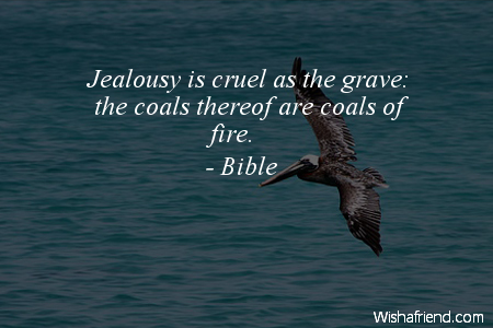 biblical quotes about jealousy quotesgram