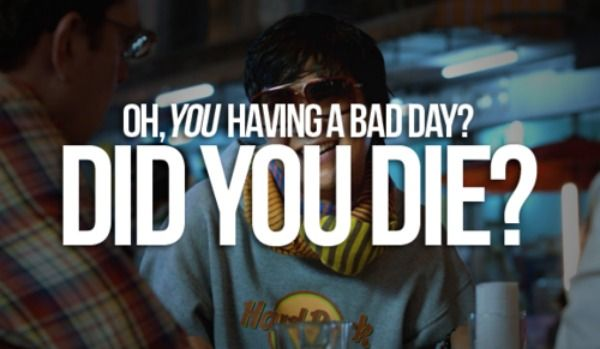 Mr Chow Hangover Quote...
