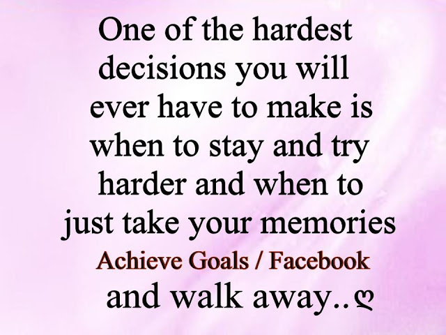 Hardest Decisions Quotes, Quotations & Sayings 2018