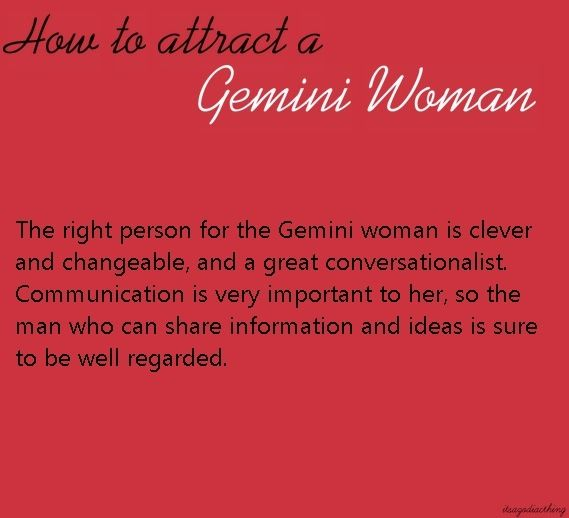 How to please a gemini woman