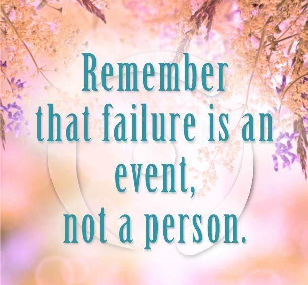 Inspirational Quotes About Positive: Inspirational Quotes About Failure And Recovery. QuotesGram