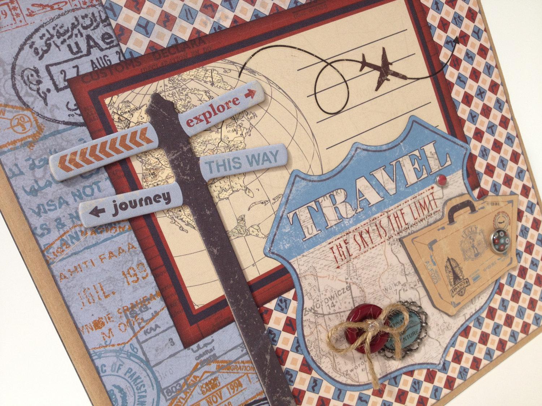 How to scrapbook travel - How To Scrapbook Travel 58