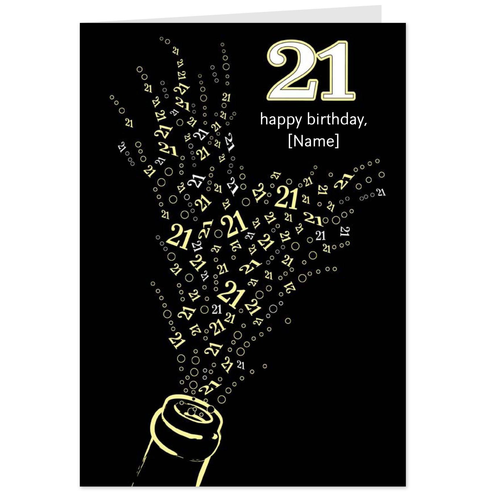 21st Birthday Quotes: 21st Birthday Quotes Funny Ecard. QuotesGram