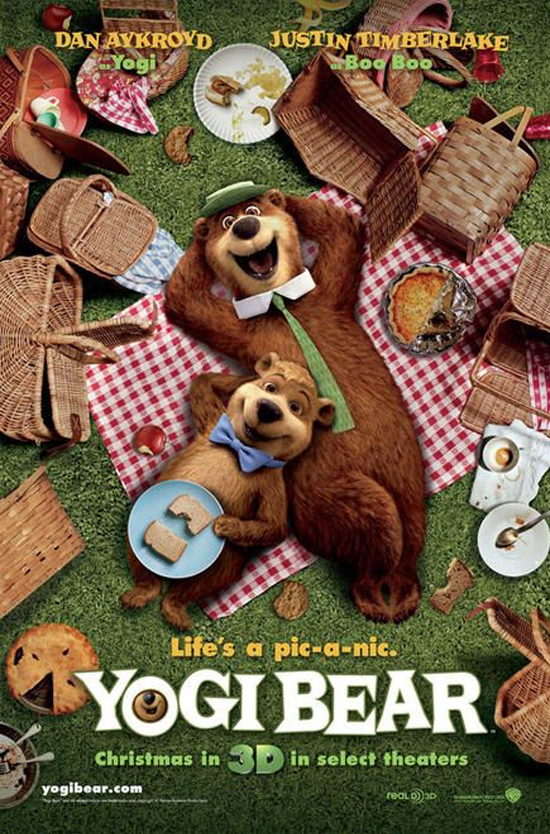 Yogi Bear Movie Poster Controversy Yogi Bear Movie Quotes...