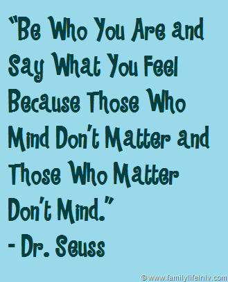 Dr Seuss Quotes About Family - All About Quotes Ideas