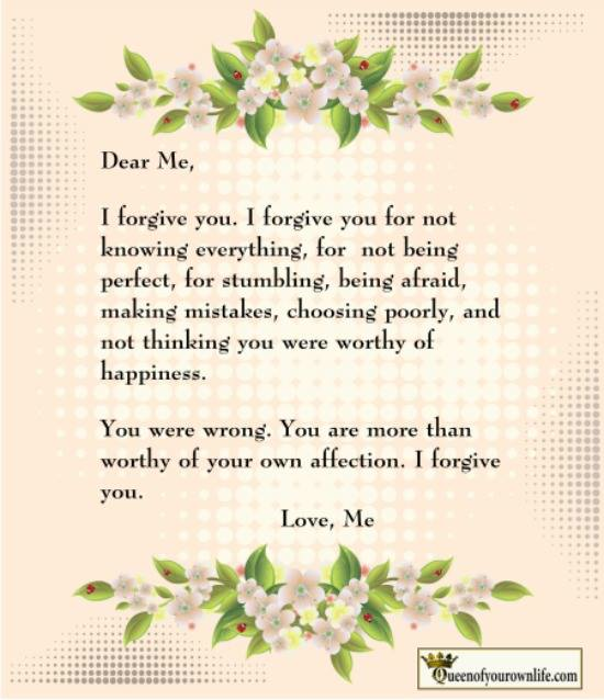 Forgiveness Poems And Quotes: Self Forgiveness Quotes. QuotesGram